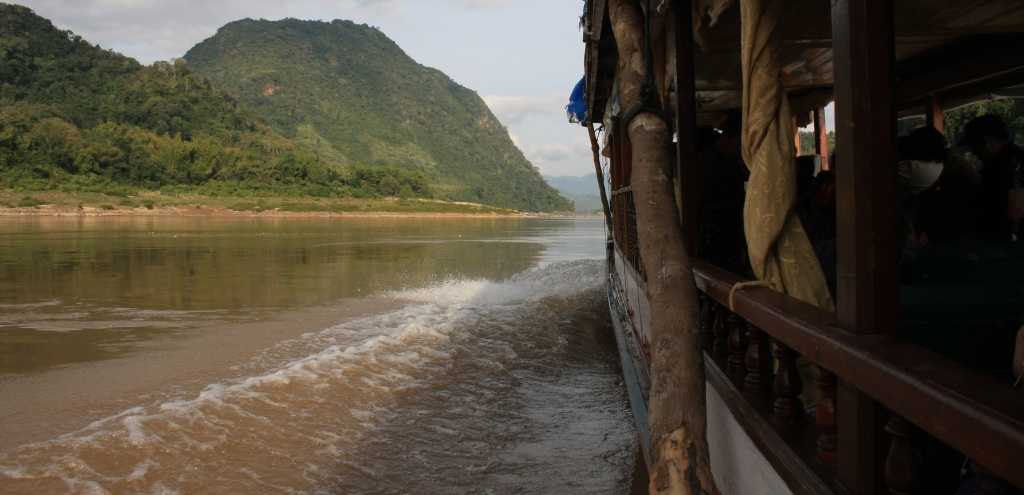 View of the Mekong River
